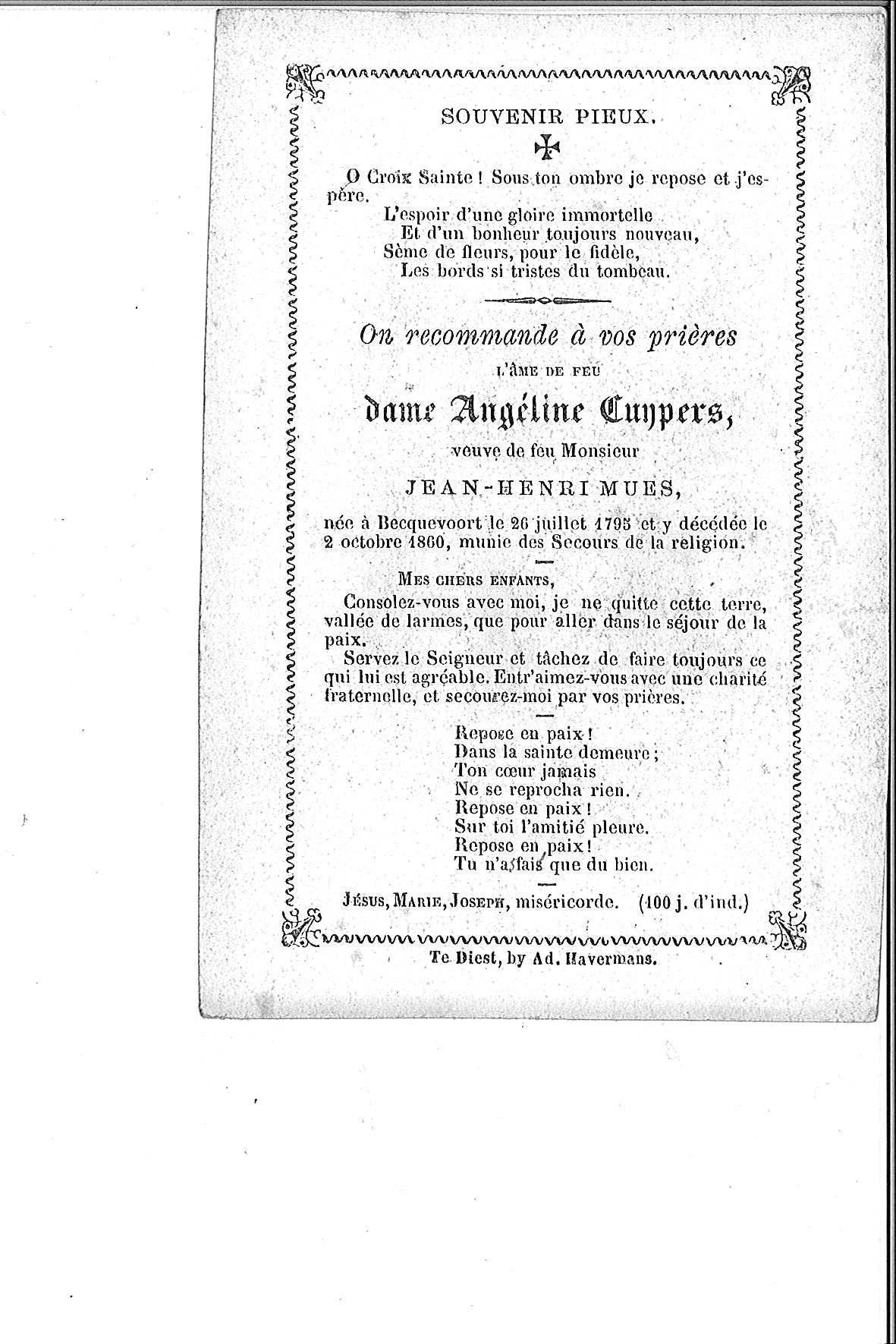 Cuypers Angéline