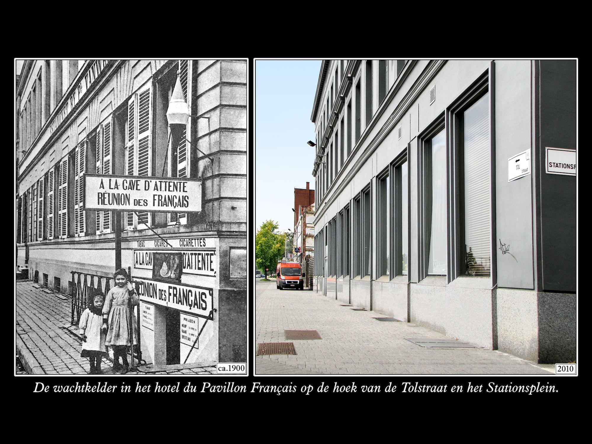 Tolstraat ca 1900 en 2010