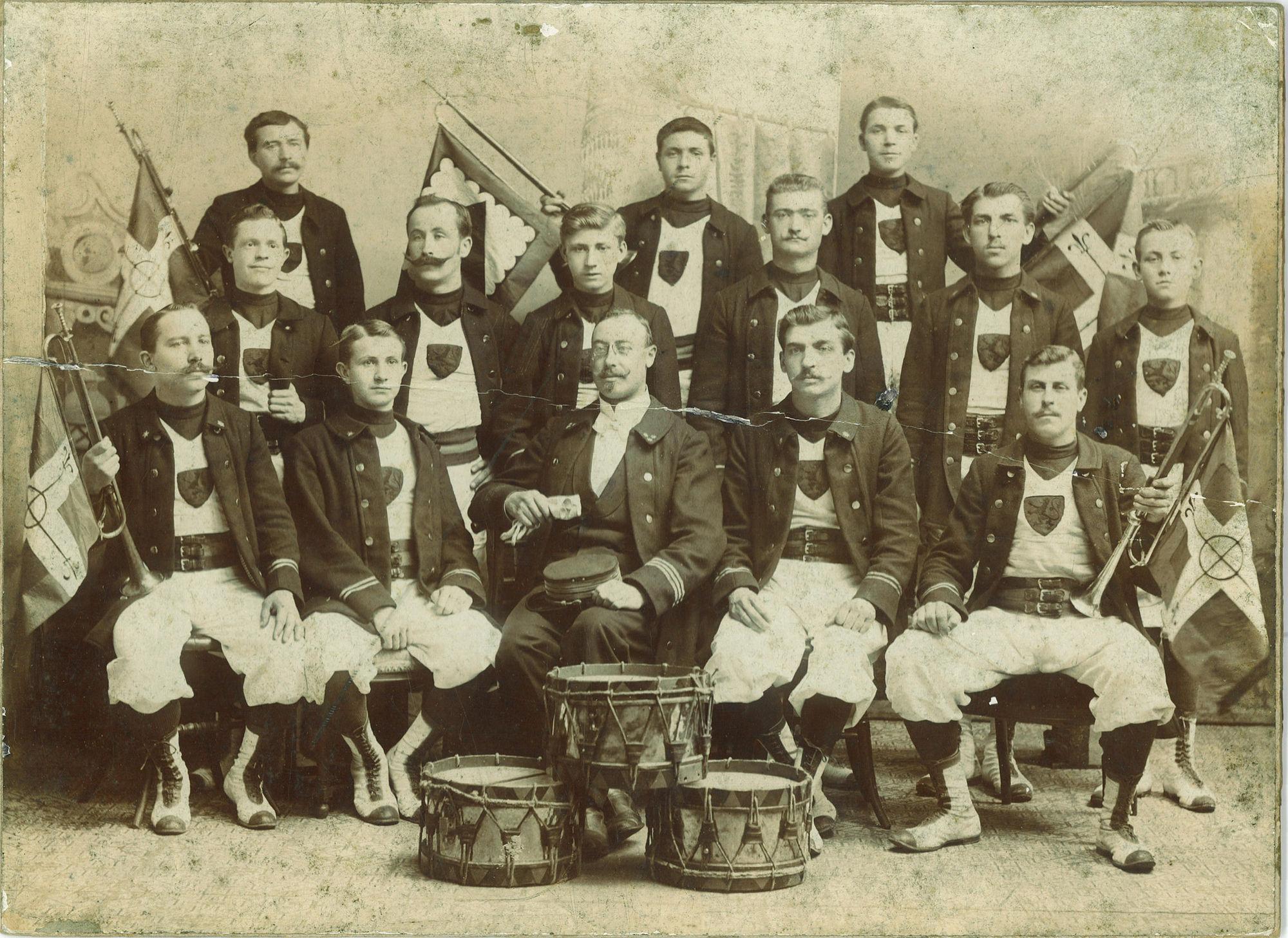 Turnersgilde in het jaar 1910