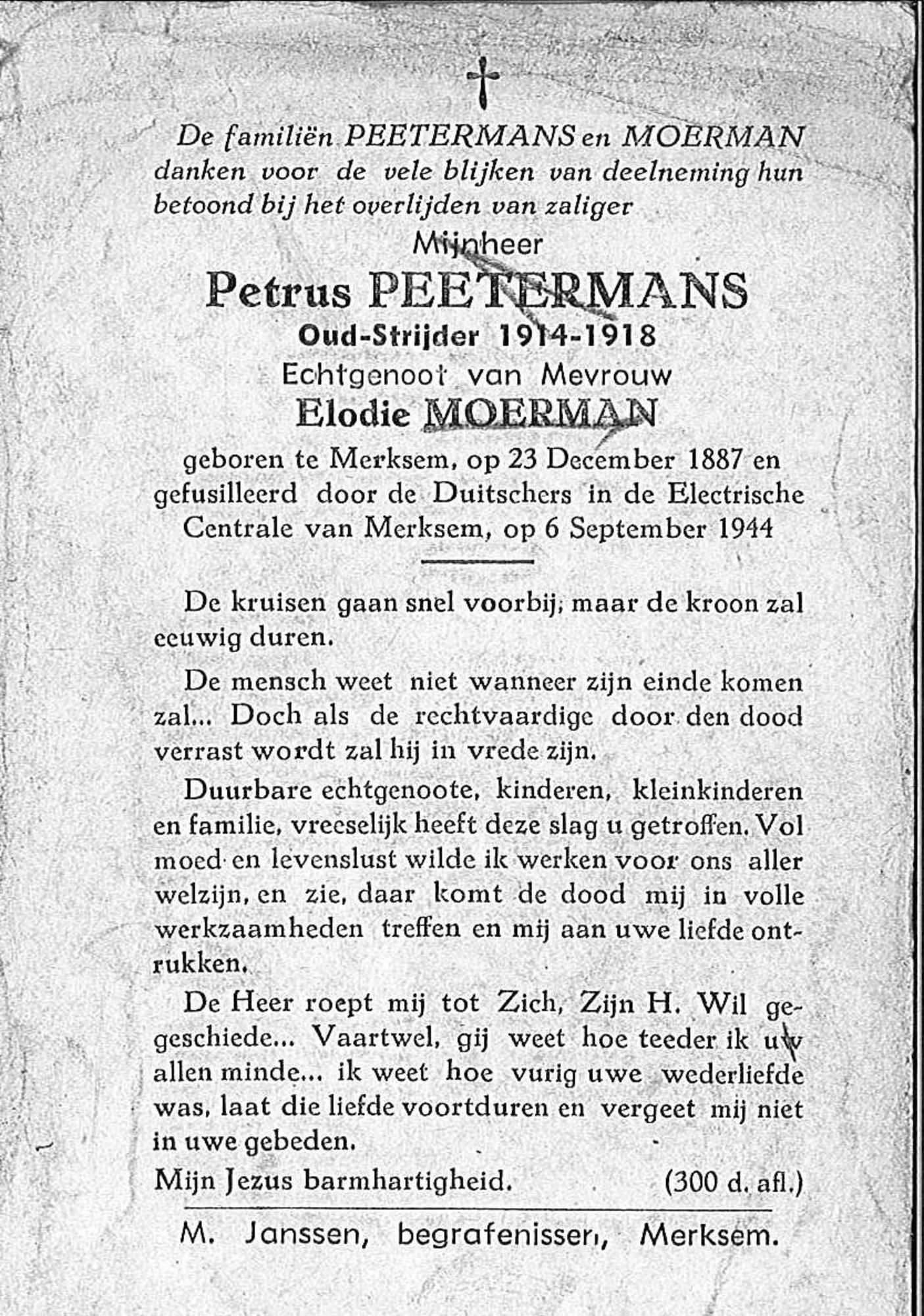 Petrus Peetermans