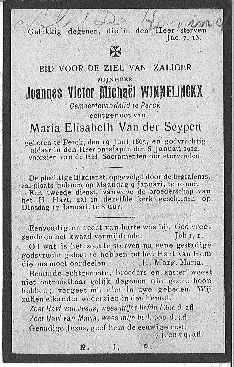 Joannes Victor Michaël Winnelinckx