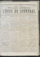 L'echo De Courtrai 1873-04-24