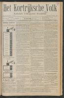 Het Kortrijksche Volk 1911-10-08