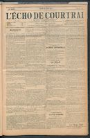 L'echo De Courtrai 1907-08-29