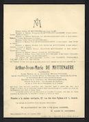 Arthur-Yvon-Marie De Myttenaere
