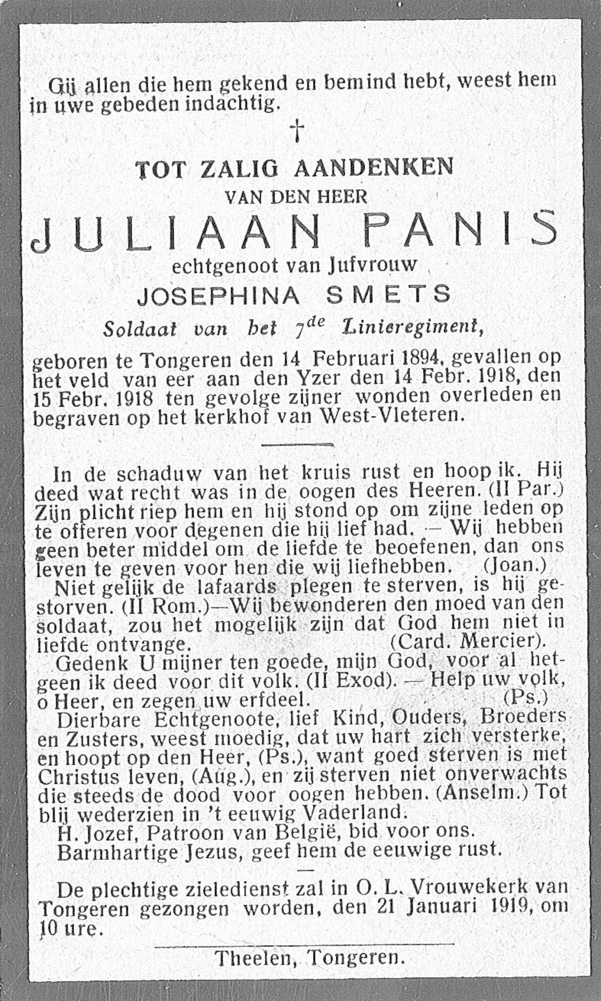 Panis Juliaan