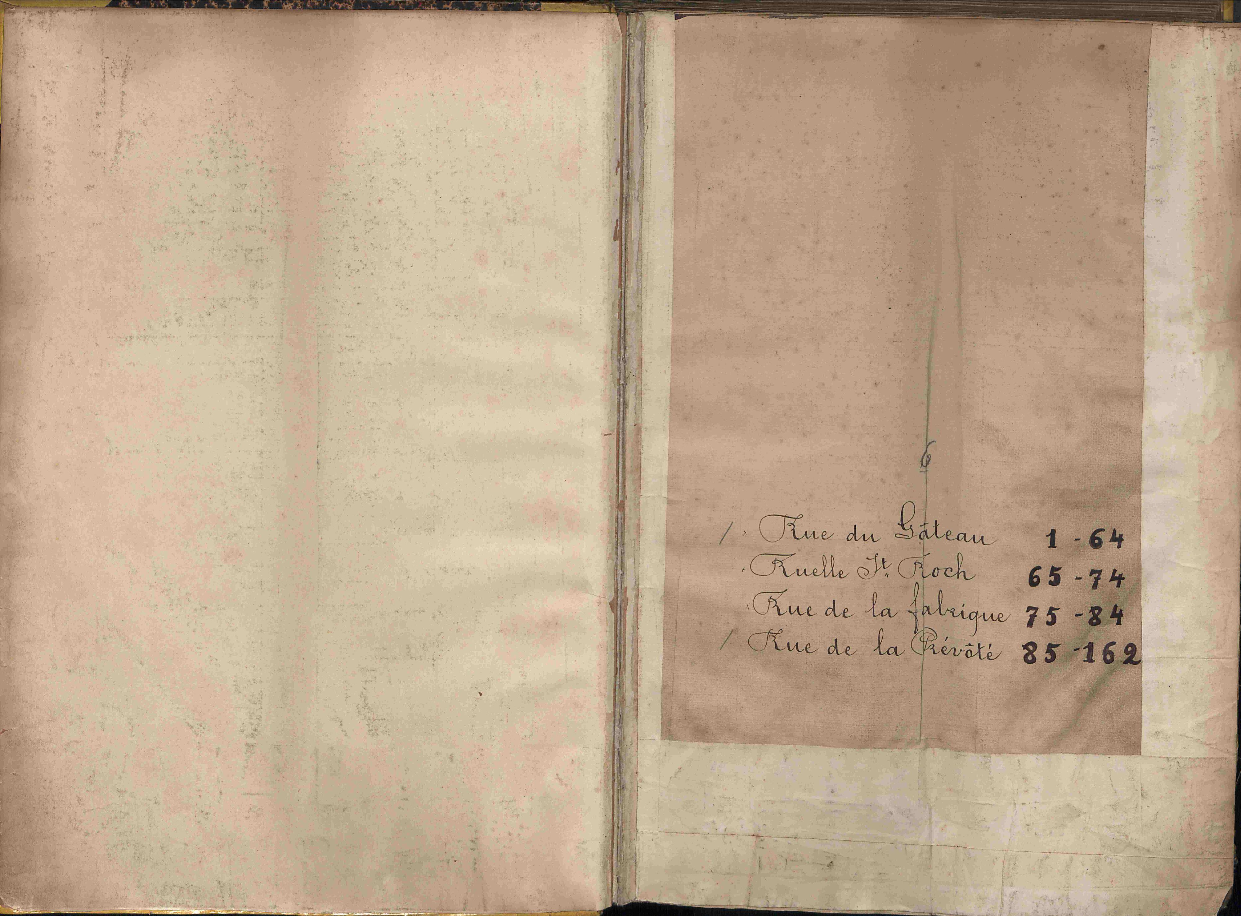 Bevolkingsregister Kortrijk 1890 boek 6