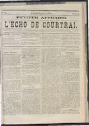 L'echo De Courtrai 1873-09-11 p1