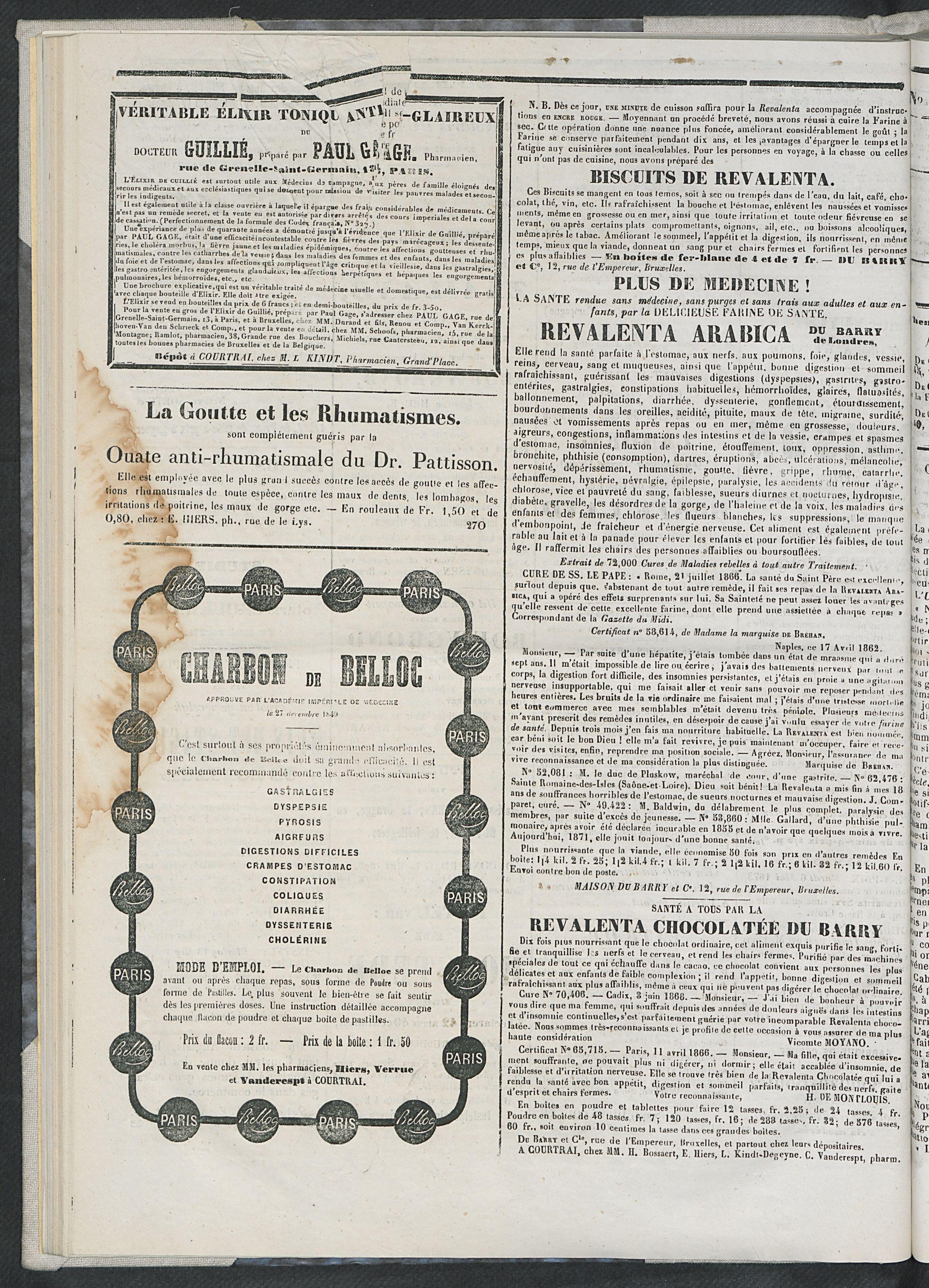 L'echo De Courtrai 1873-05-04 p4
