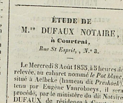 M.re DUFAUX NOTAIRE