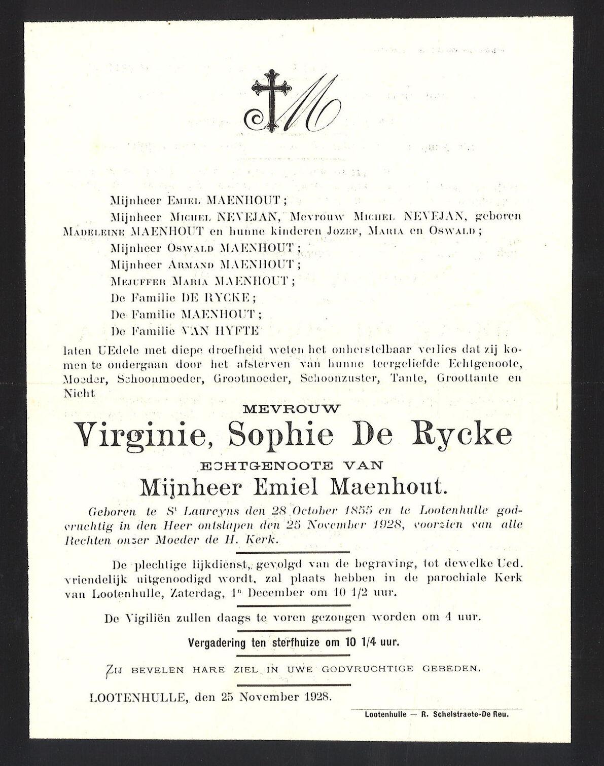 Virginie Sophie De Rycke