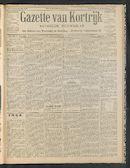 Gazette Van Kortrijk 1906-07-12