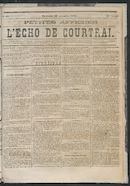 L'echo De Courtrai 1873-11-16