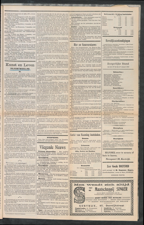 Het Kortrijksche Volk 1910-01-23 p5