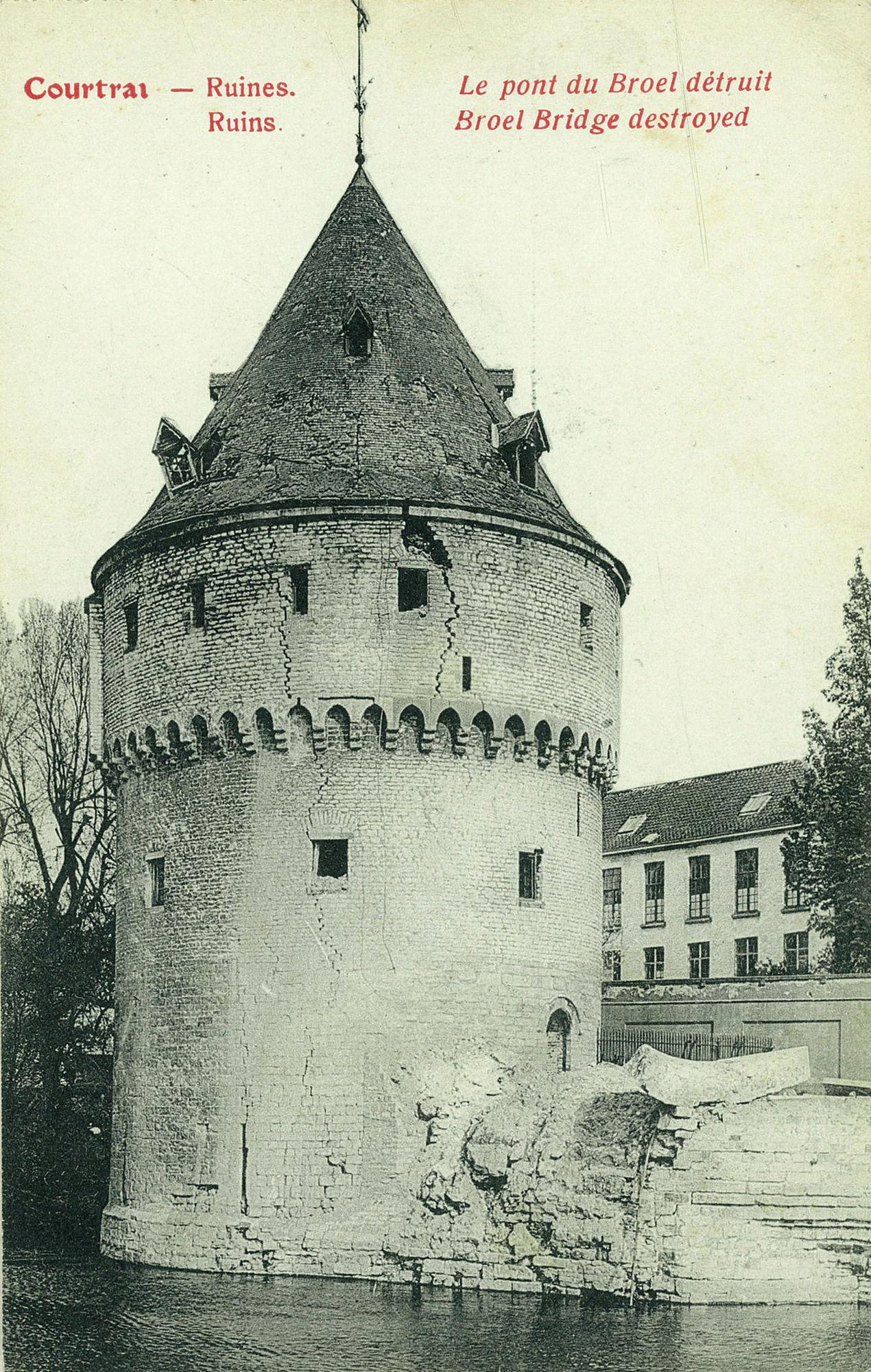 Broelbrug tijdens Wereldoorlog I