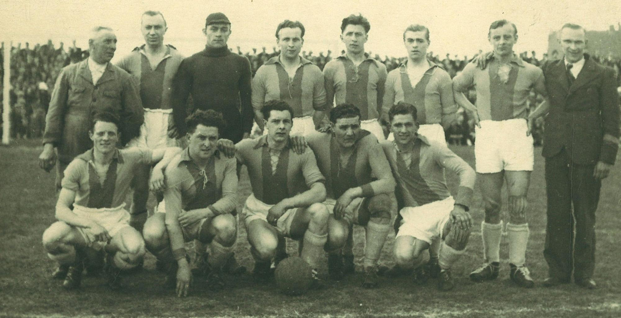 Eerste afdeling A.,  Kortrijk Sport in 1946