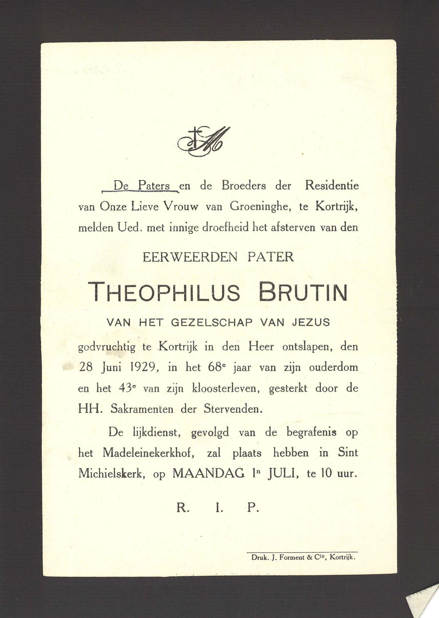 Theophilus Brutin