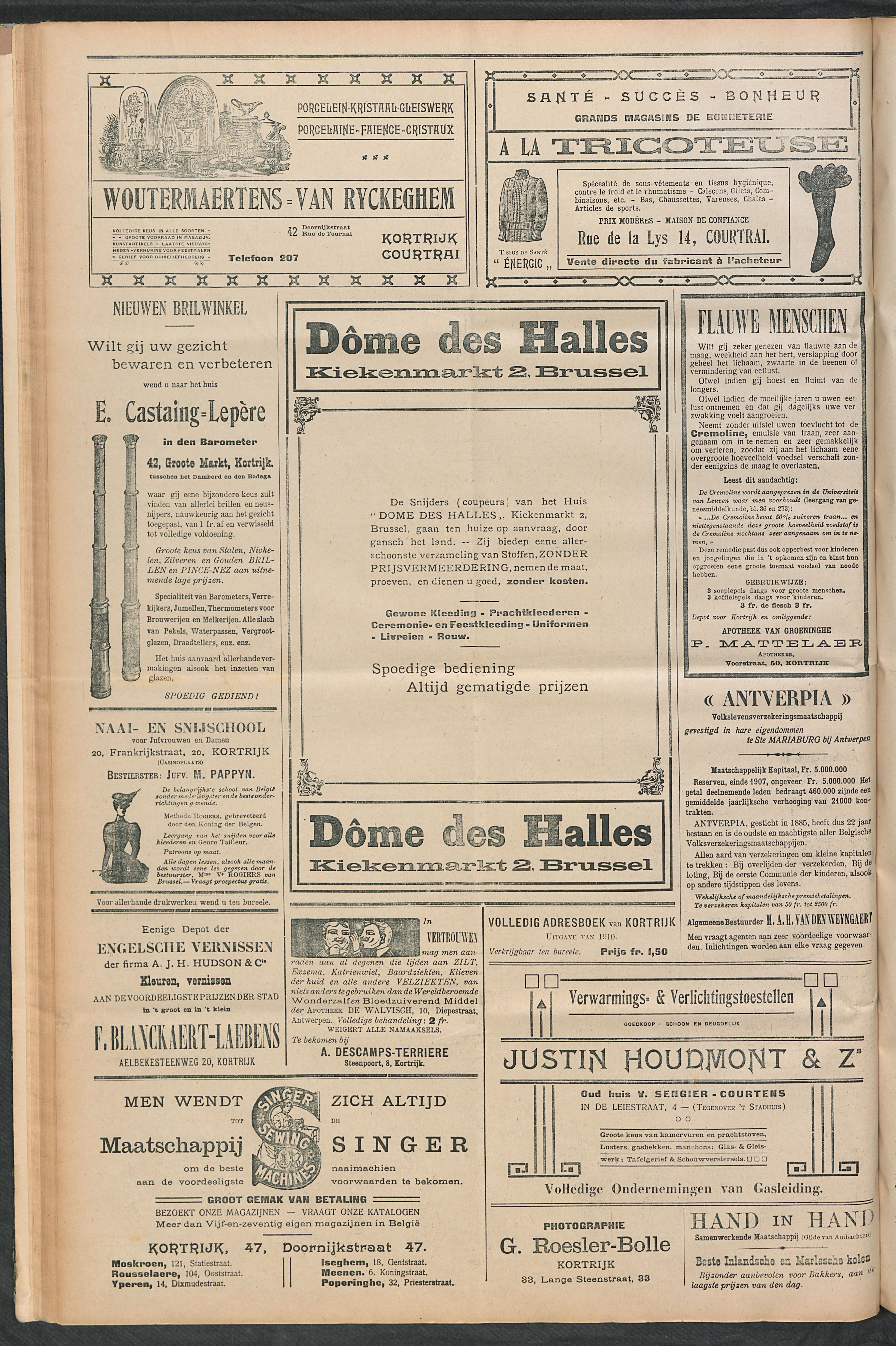 Het Kortrijksche Volk 1910-05-15 p4