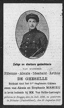 De Gheselle Etienne-Alexis-Idesbald-Arthur