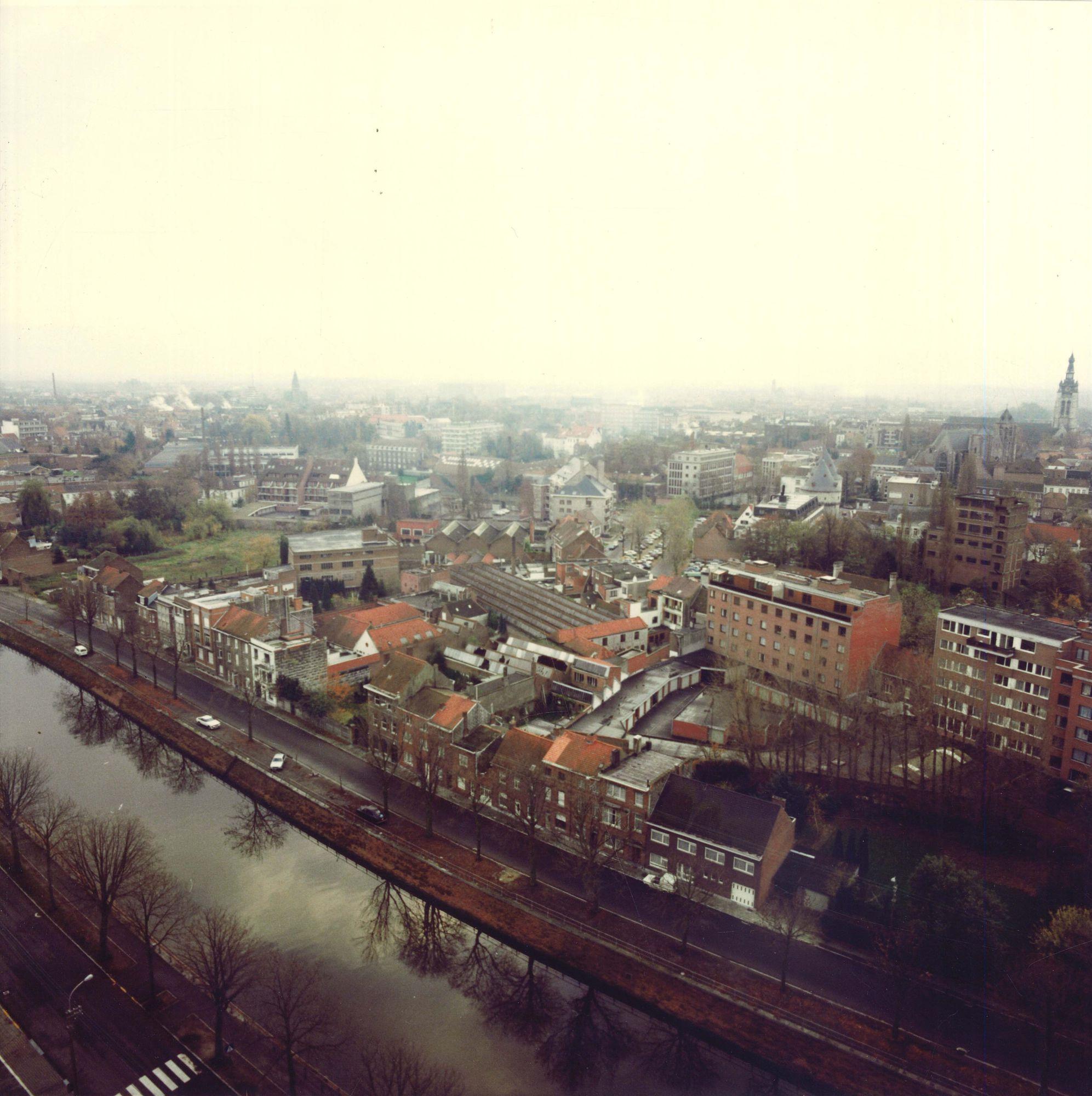 Ijzerkaai Kortrijk 1975