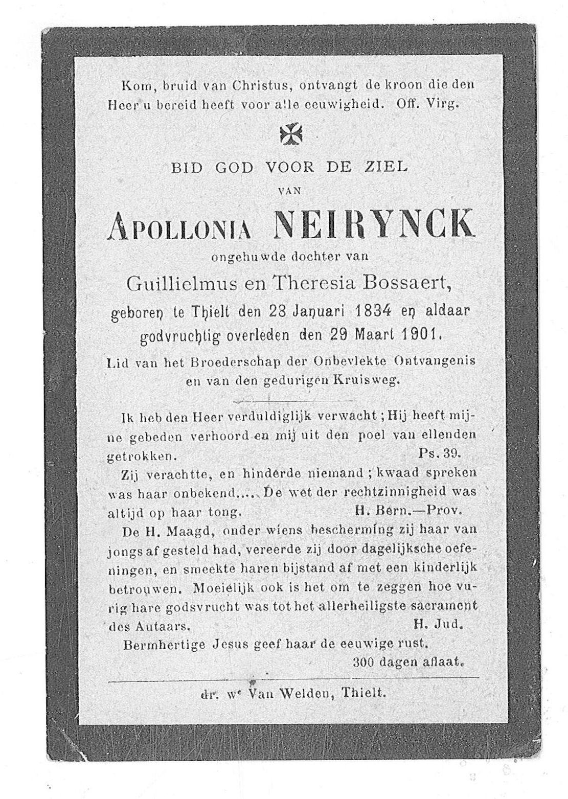 Apollonia Neirynck