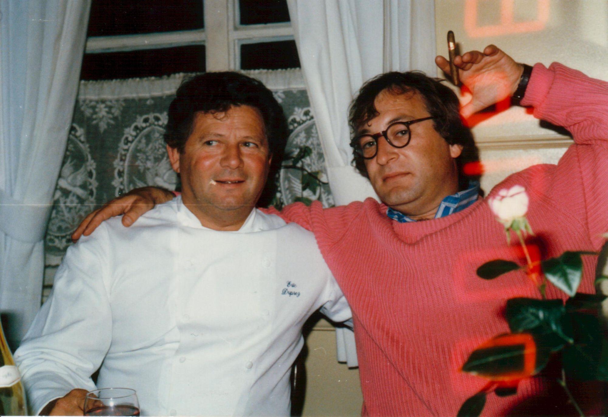 Youp Van 't hek, een vaste en trouwe vriend van de Kapucijnestraat 1985