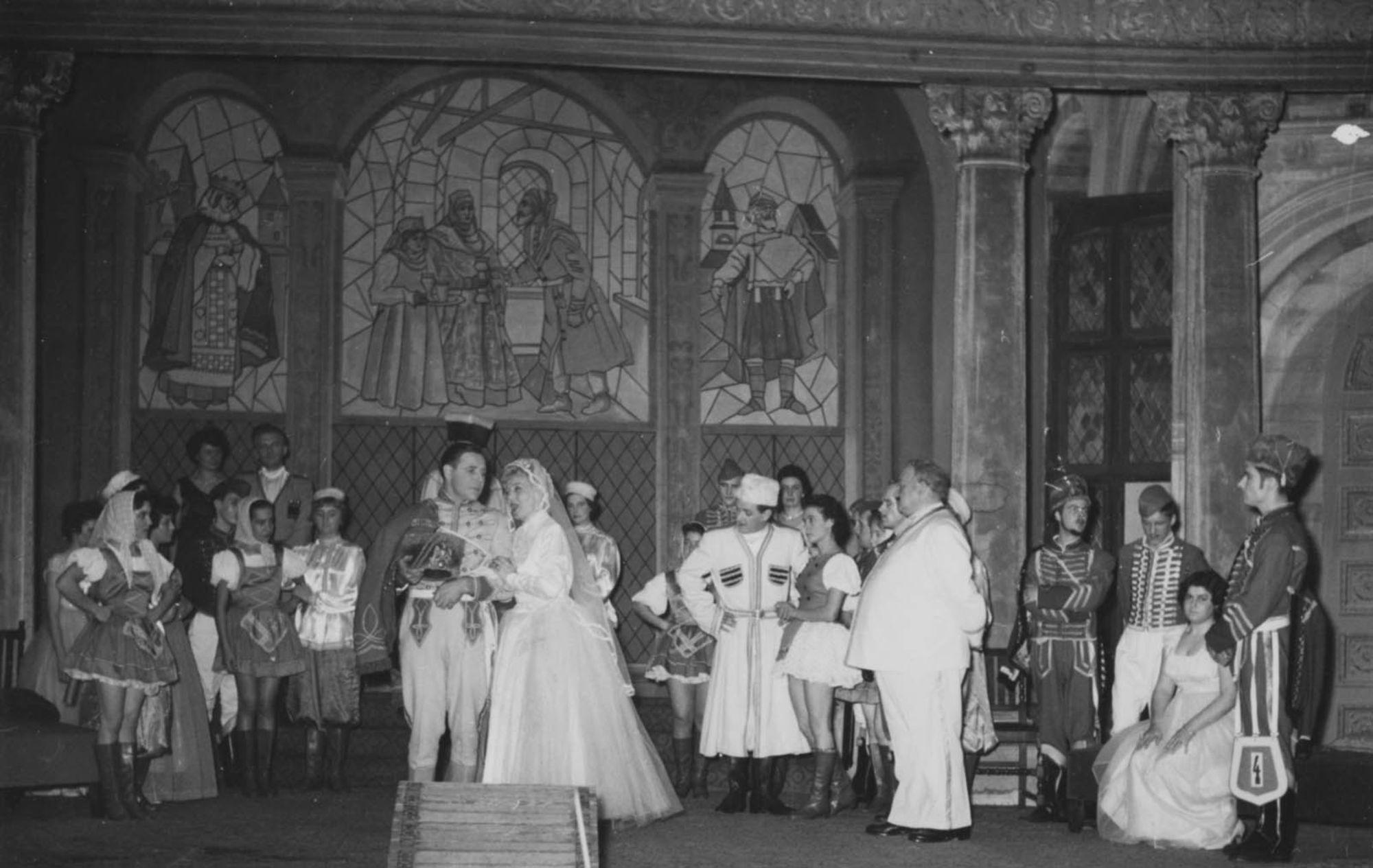 Kortrijks Lyrisch Toneel in 1959-60