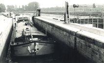 Oud sluizencomplex Menen 1982