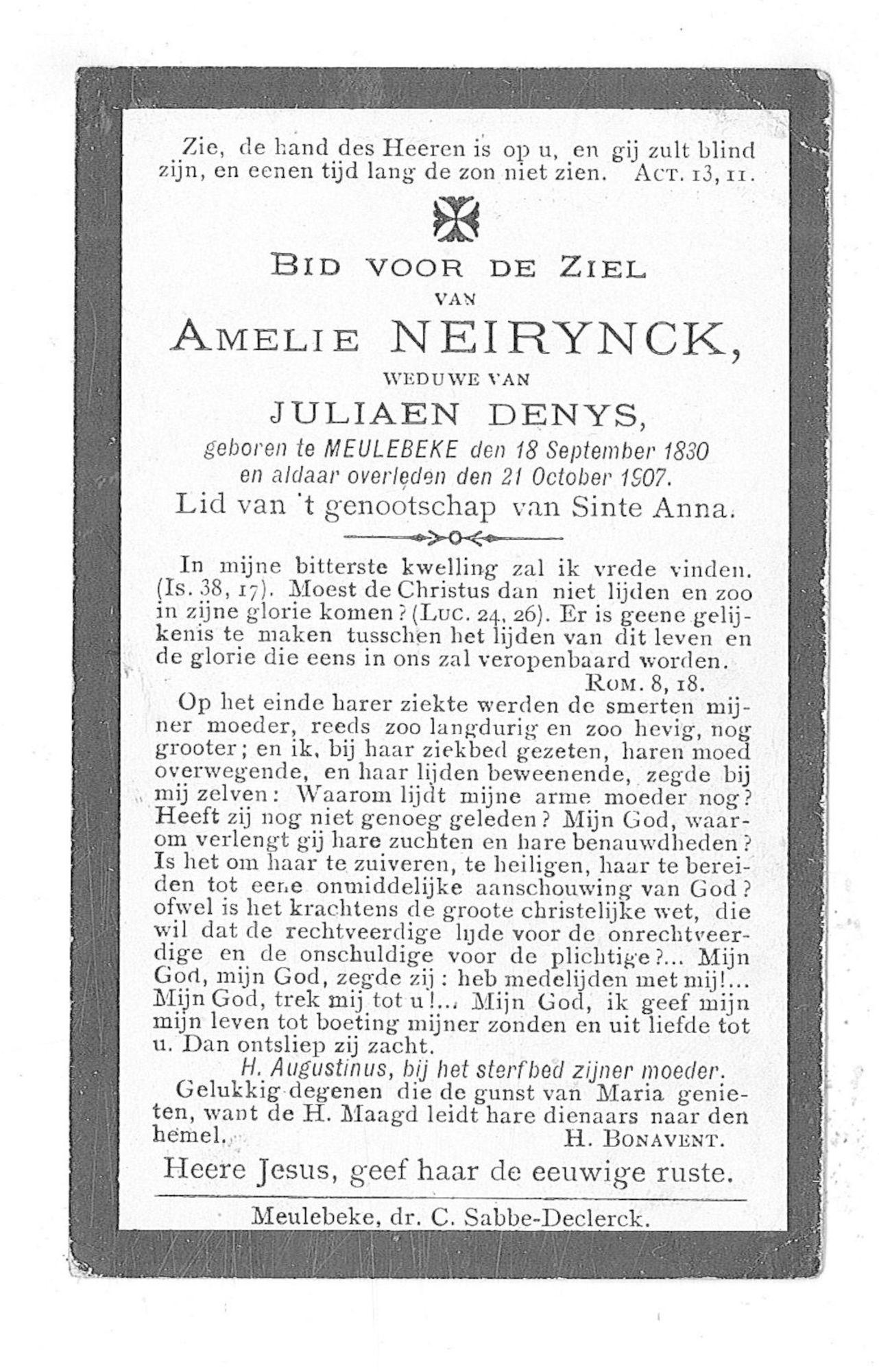 Amelie Neirynck
