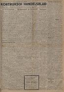 Kortrijksch Handelsblad 8 september 1945 Nr72