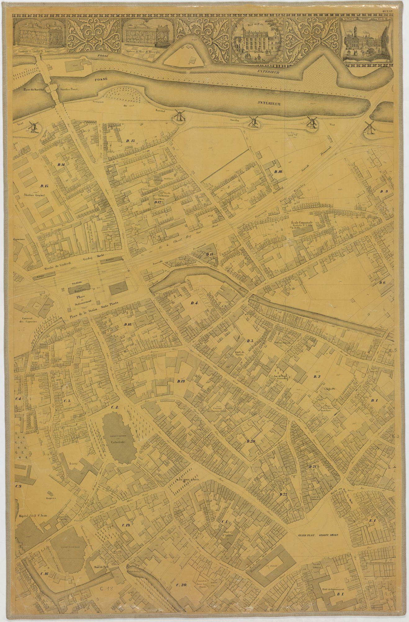 Westflandrica - Poppkaart van Brugge (2)