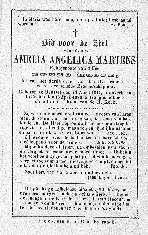 Amelia Angelica Martens