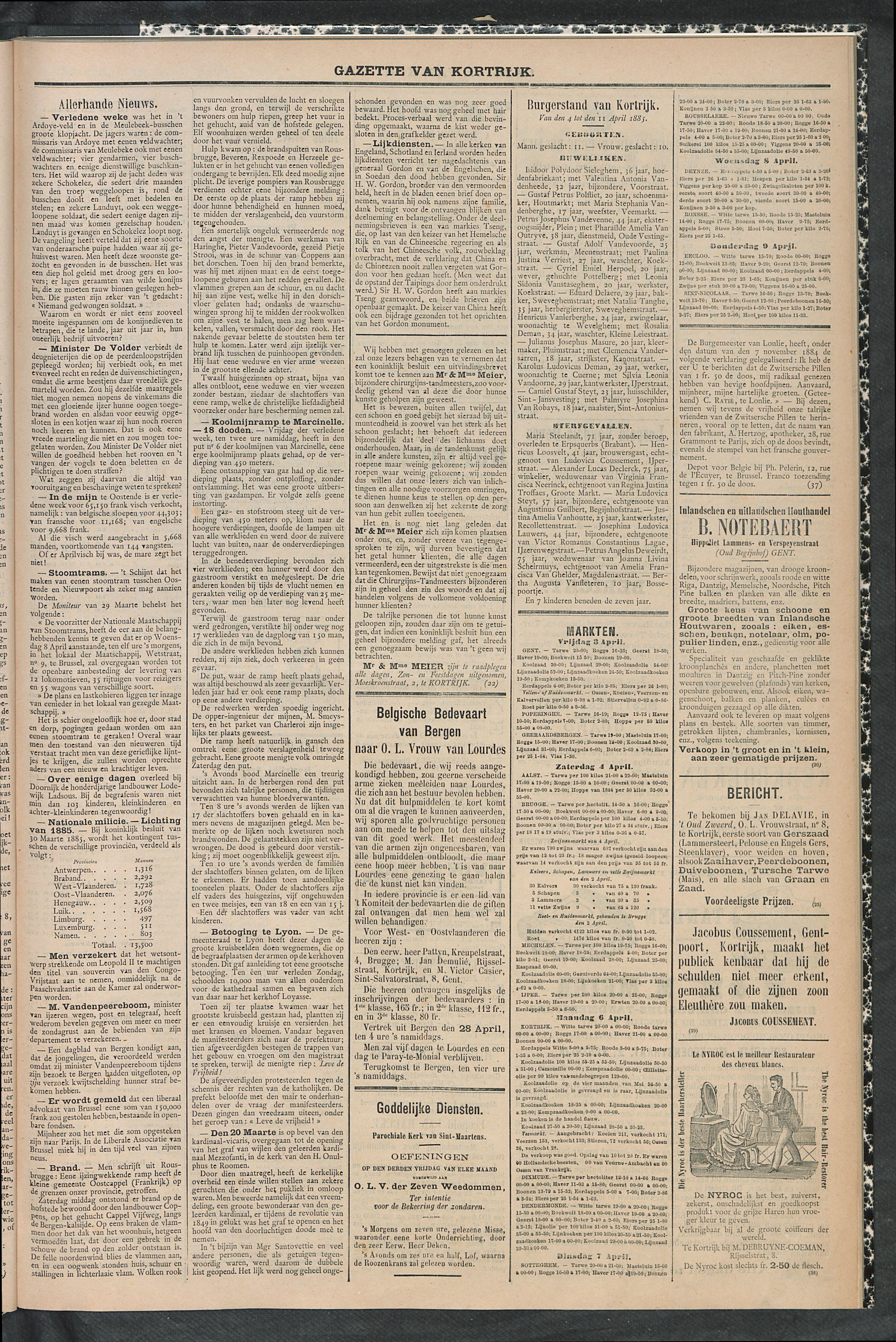 Gazette Van Kortrijk 1885-04-11 p3