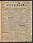 Gazette Van Kortrijk 1910-12-25