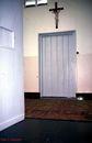 Toegangsdeur kloosterslot. Arme Klaren