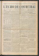 L'echo De Courtrai 1914-06-14