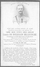 Eugène-Marie-Frédéric-Ernest-Ghislain comte de Diesbach Belleroche