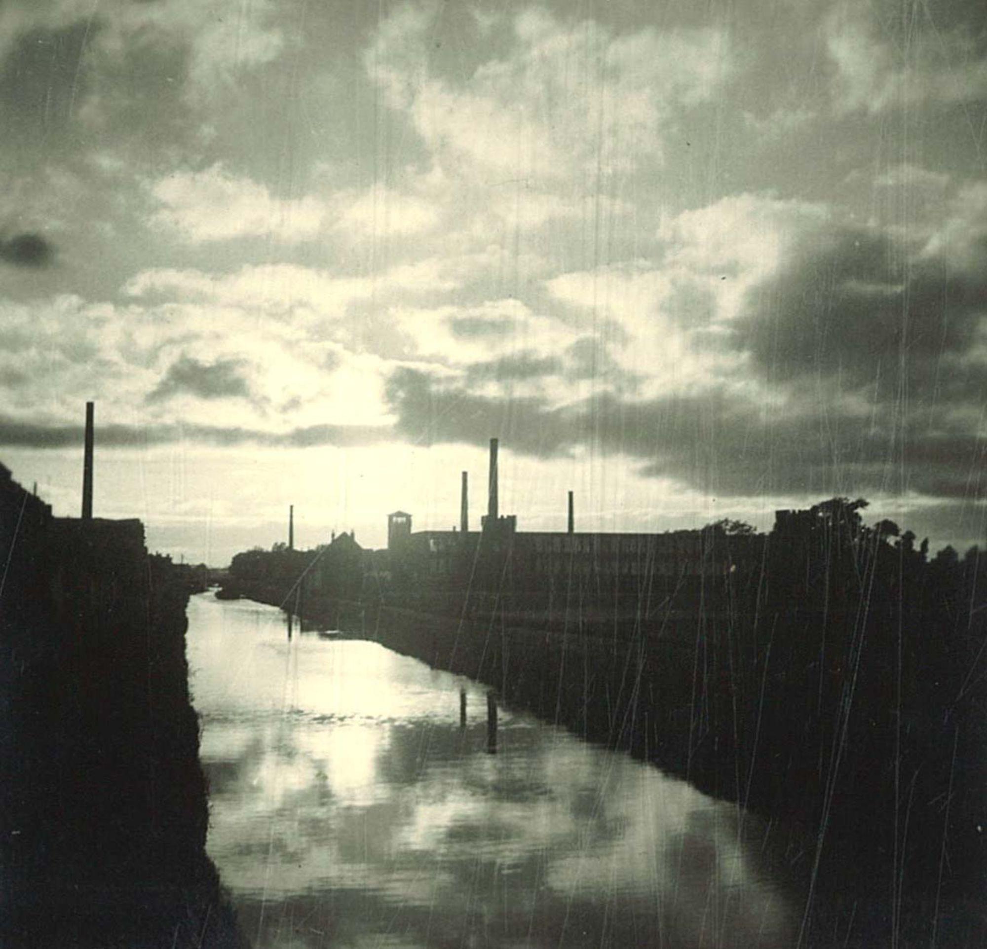 De vaart aan de Spinnerijkaai 1950