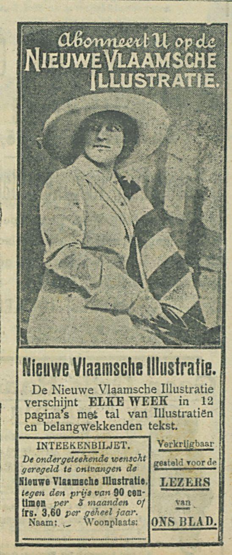 Nieuwe Vlaamsche Illustratie