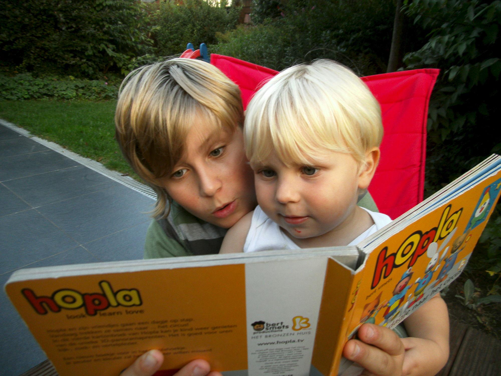 Lezen met broer