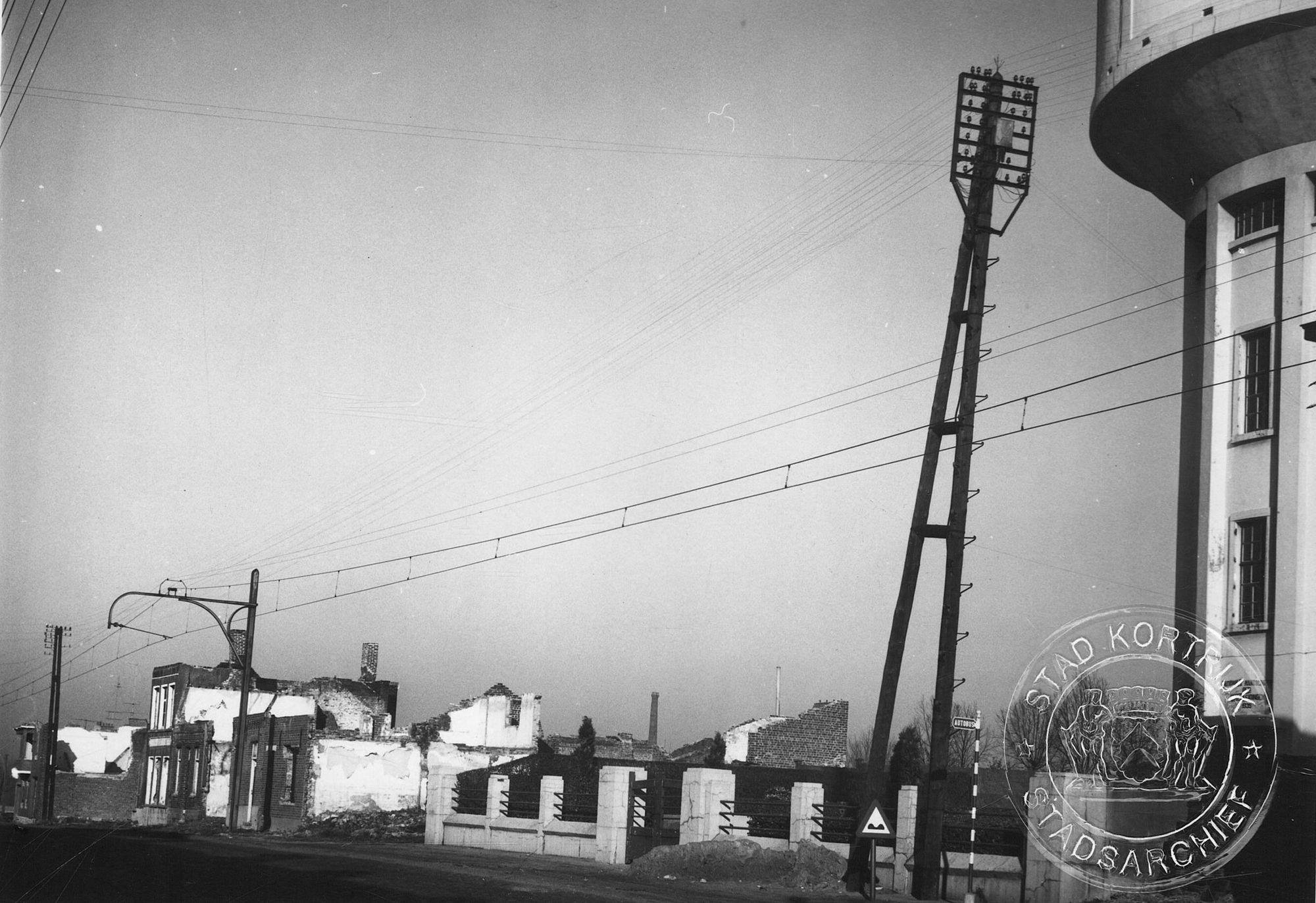 Kortrijk - oorlogsschade 1940