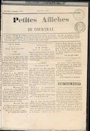 Petites Affiches De Courtrai 1835-09-06