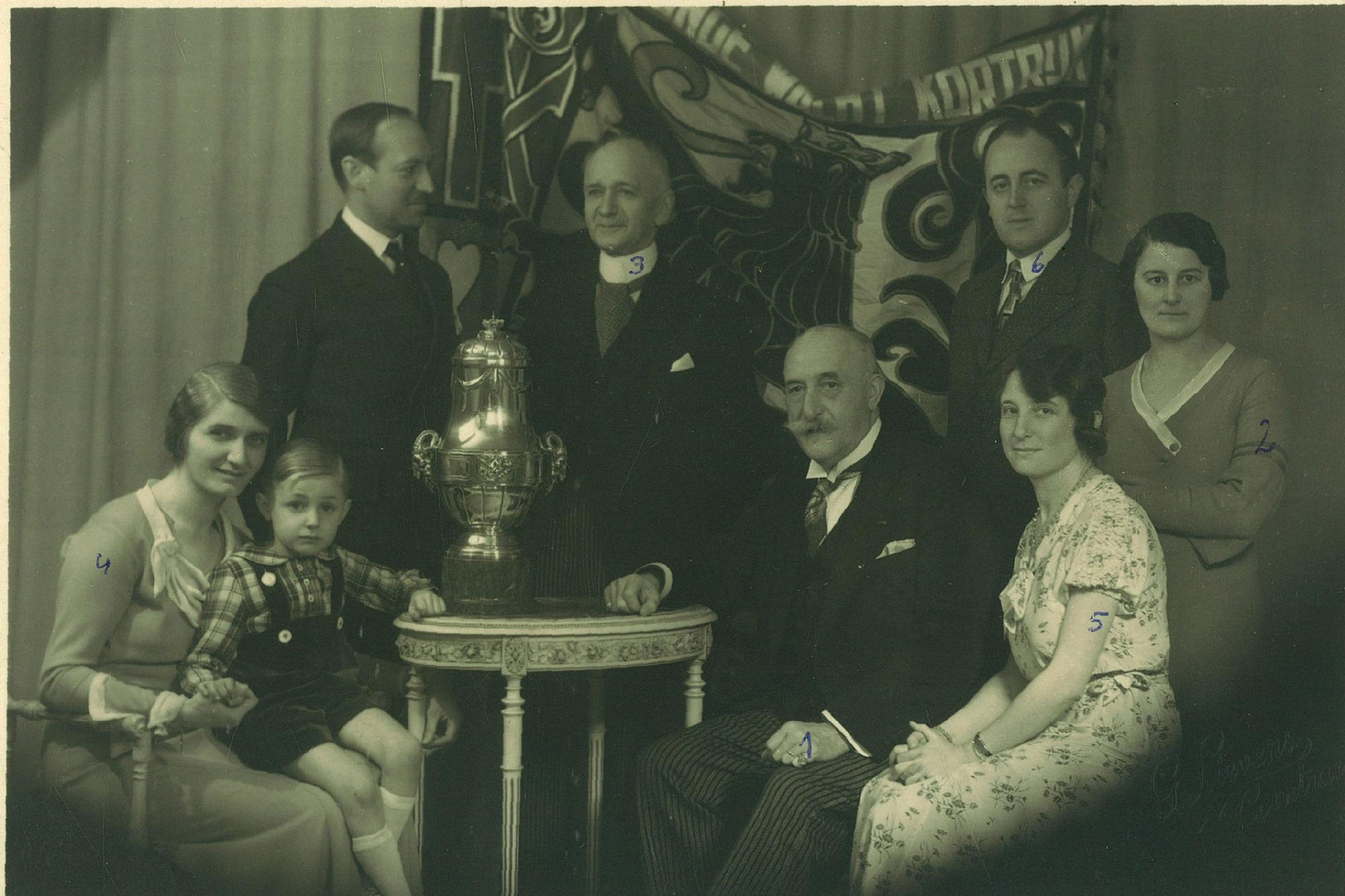 La Jeune Garde Catholique in 1934