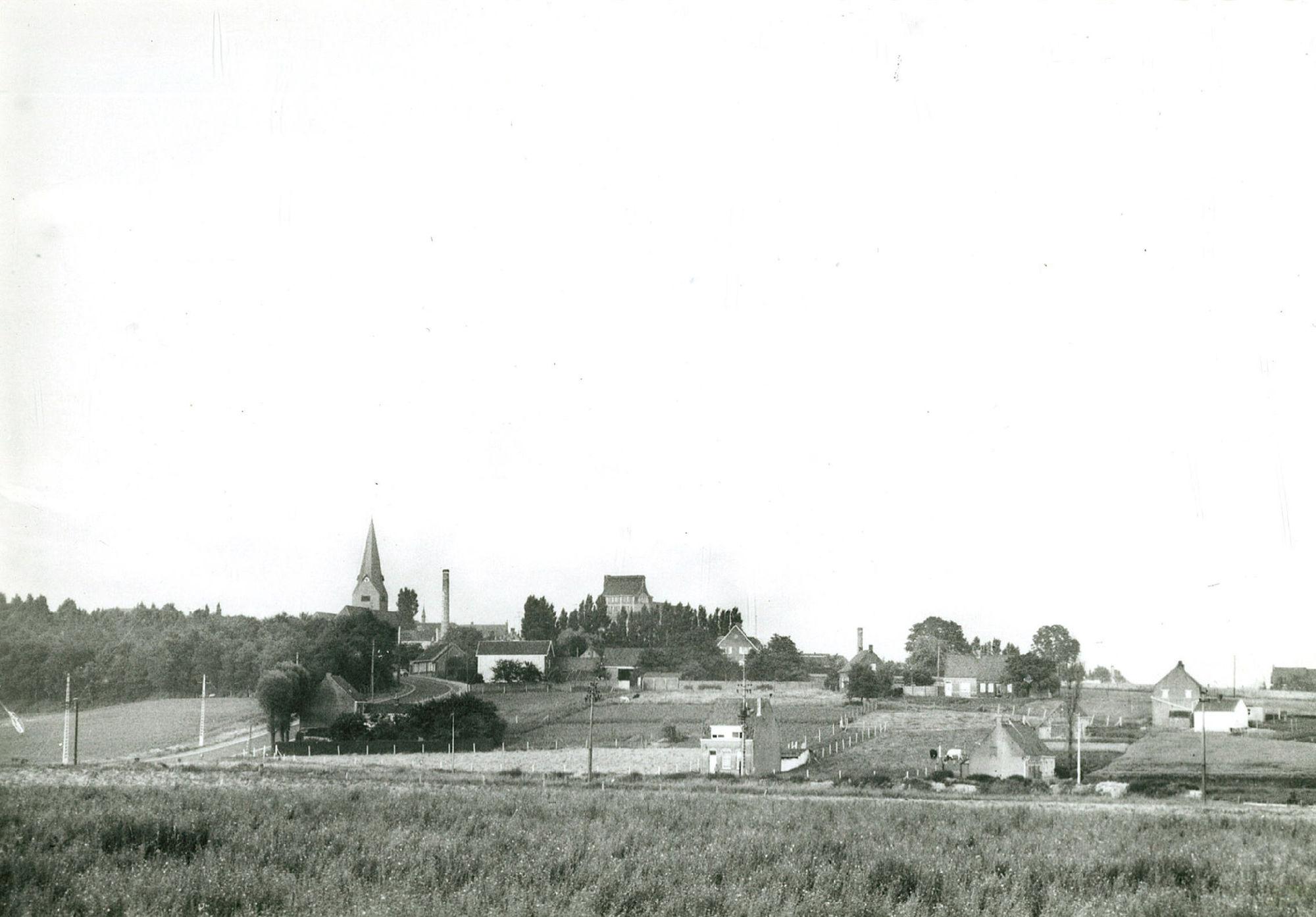 Uitzicht over Bellegem
