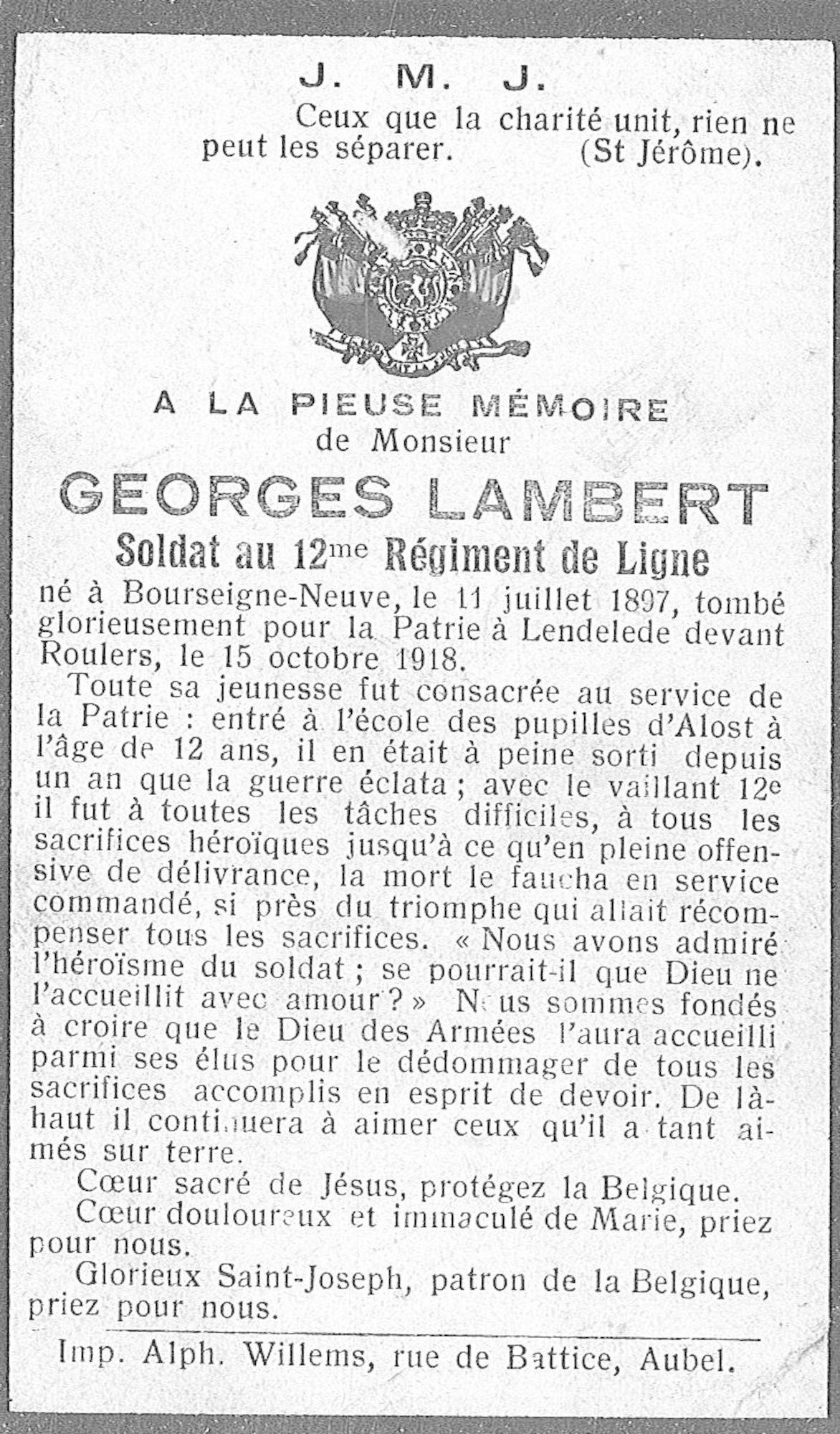 Lambert Georges