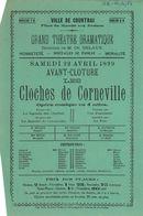 """Paasfoor 1899: operette """"Les cloches de Corneville"""""""