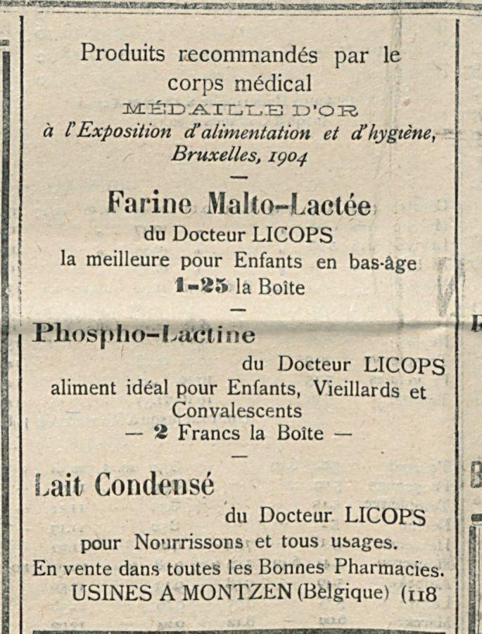 Farine Malto-Lactee
