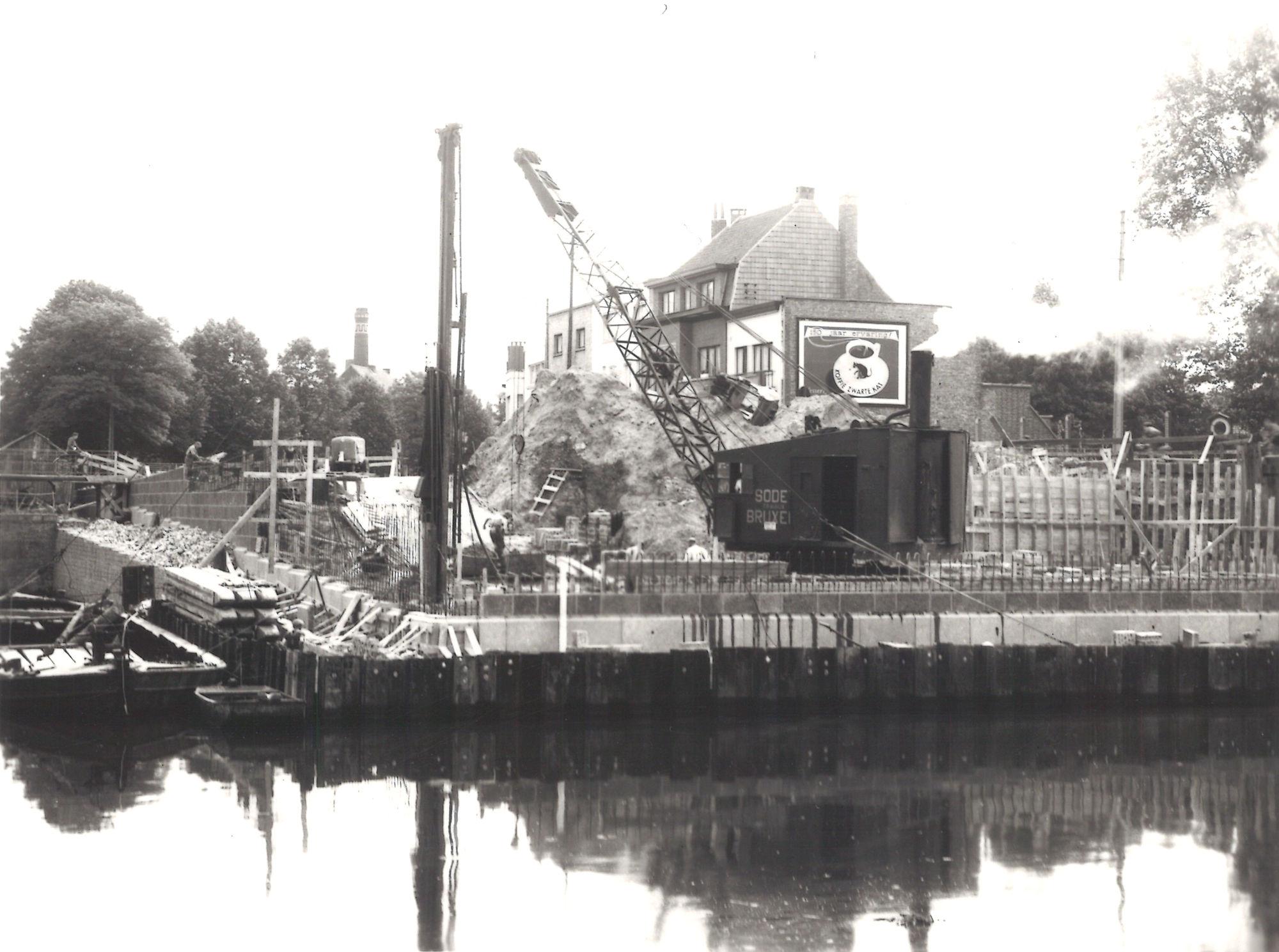Groeningebrug 1955