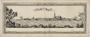 Westflandrica - Diksmuide, zicht op de stad