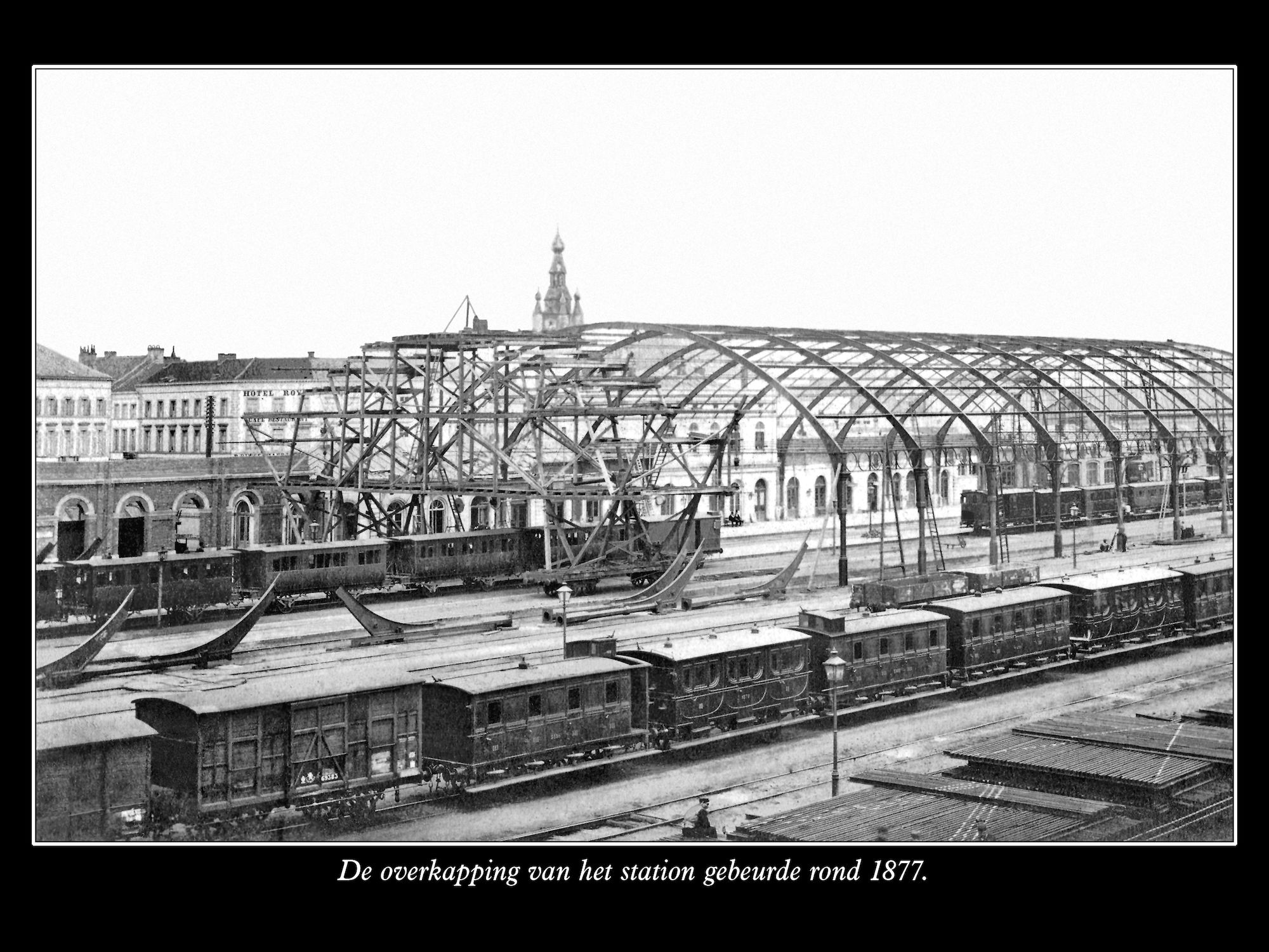 Overkapping station ca 1877
